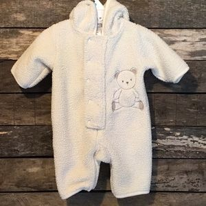 💛4/$10 Carter's Hooded Fleece One Piece Outfit